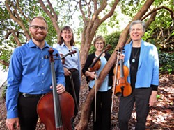 The Arcata Bay String Quartet - Uploaded by fredbaby