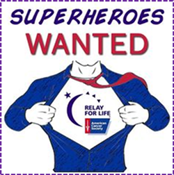 Superheroes WANTED for Relay for Life 2020 - Uploaded by mirjahbr