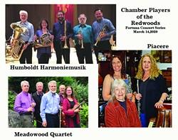 Humboldt Harmoniemusik, Meadowood Quartet & Piacere - Uploaded by Darlin
