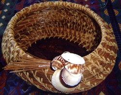 Hand made basket - Uploaded by April Sproule