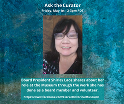 Ask the Curator with Shirley Laos - Uploaded by clarkemuseum