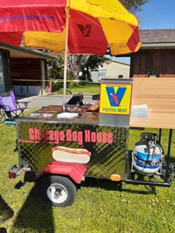 PHOTO COURTESY OF CARRIE DADIGAN - Chicago Dog House at Redwood Acres.
