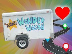 Playhouse Wonder Wagon is an art spectacle on wheels! - Uploaded by playhousehaley