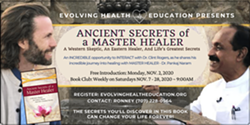 Ancient Secrets of a Master Healer - Free Introduction with Dr. Clint Rogers - Uploaded by evolvinghealth