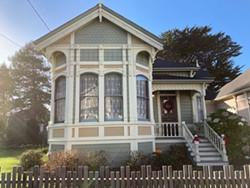 JENNIFER FUMIKO CAHILL - The Amy B. Ryan House on F Street in Eureka.