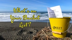What's on Your Bucket List? - Uploaded by Katie Whiteside