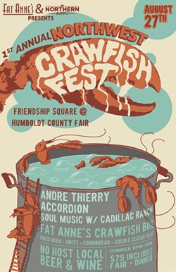1st ANNUAL NORTHWEST CRAWFISH FEST - Uploaded by Andre Thierry