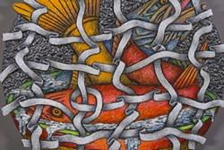 "COURTESY OF THE ARTIST - Louis Marak's ""Fish Net Bowl"" at the Morris Graves Museum of Art."