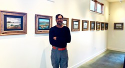 SUBMITTED - Bobby Wright at the Trinidad Coastal Land Trust.
