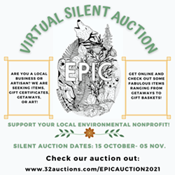 Virtual Silent Auction Flyer - Uploaded by Environmental Protection Information Center