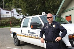PHOTO BY THADEUS GREENSON - Rio Dell Police Chief Graham Hill hired Harralson, his brother-in-law, to be an officer back in 2009. How much Hill knew about the domestic violence allegations facing Harralson remains unclear.