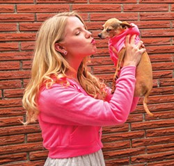 COURTESY OF FERNDALE REPERTORY THEATRE. - Jessie Rawson and Beanie Boo think pink.
