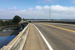 PHOTO BY JENNIFER SAVAGE - Looking Back — the bridges are great without the cars.