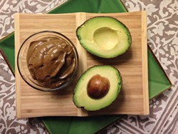 PHOTO BY JENNIFER FUMIKO CAHIL - You love chocolate. You love avocados. Love them together.