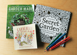 GENEVIEVE SCHMIDT. - Scratch your winter gardening itch with a new book.