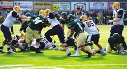 GRANT SCOTT-GOFORTH - Humboldt State University athletes, including this year's record-setting football team, are subjects of a growing national concussion research program.