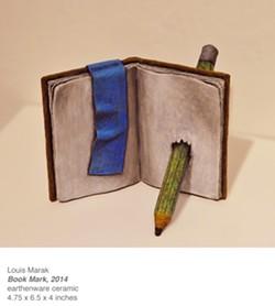 Artwork by Louis Marak, Humboldt State University First Street Gallery.