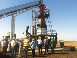 ANGIE LOTTES. - New biomass power development may attract new technology to the North Coast, similar to this 0.5 megawatt plant in the Central Valley.