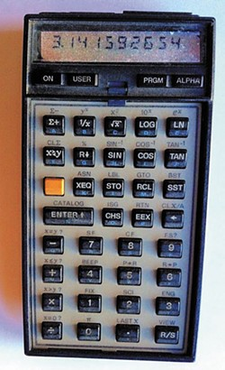 "BARRY EVANS. - Along with all computers today, my trusty 1979 programmable HP 41C calculator is based on the same inefficient ""architecture"" as that proposed in 1945 by John von Neumann. Memristors are the first step to changing that."