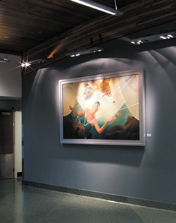 SUBMITTED. - Redwood Art Association exhibit at the California Redwood Coast Airport.