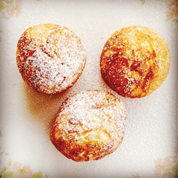 PHOTO BY SIMONA CARINI - Ballin' at breakfast with Danish aebleskiver.