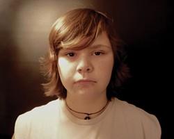 "SUBMITTED - Teen Court member Beth, photographed as part of an art show titled ""Second Chances."""