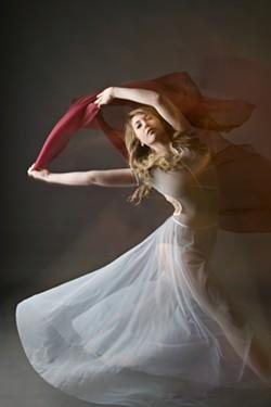 PHOTO BY SACRED IMAGES PHOTOGRAPHY - Soloist Roshelle Howard of Trillium Dance Studios
