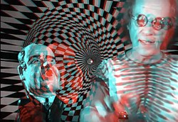 "Trippy commerce in ""Burn One with Nixon- 3D."" YouTube"