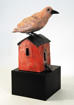 Treacy Ziegler, sculptures at Morris Graves