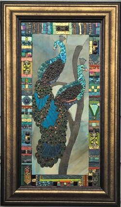 Barbara Wright, mosaics at Trinidad Art Gallery.