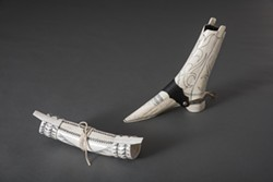 Elk Antler Purse and Boot by George Blake