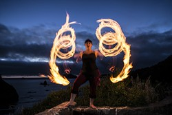 SUBMITTED - Circus of the Elements at Saunders Park.