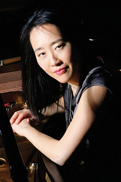 COURTESY OF THE ARTIST - Helen Sung Quartet plays Humboldt State University's Fulkerson Recital Hall at 8 p.m. on Sunday, Nov. 6.