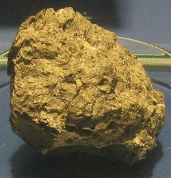 WIKIPEDIA - Martian meteorite ALH 84001 had its moment in the sun in 1996, when researchers claimed to have found fossils of bacterial life within it. They were probably wrong.