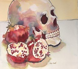 Jonte Pomegranate Watercolor