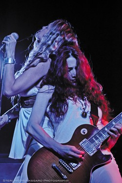 COURTESY OF THE ARTISTS - Zepparella brings the Zepplin tunes to Humboldt Brews on Thursday, Dec. 1 at 9:30 p.m.