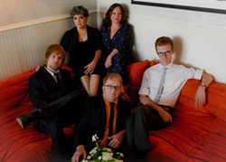 PHOTO BY PAUL BEATTIE - Flat Five plays the Arcata Playhouse on Tuesday, Jan 17 at 8 p.m.