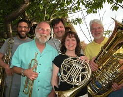SUBMITTED - Members of the North Coast Brass Ensemble