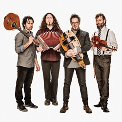 Le Vent du Nord blows into the Arcata Playhouse at 8 p.m. on Wednesday, March 15.