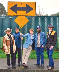 COURTESY OF THE ARTISTS - The Detours play the Arcata Playhouse Friday, April 28.