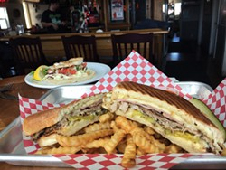 PHOTO BY JENNIFER FUMIKO CAHILL - The Cubano at the Vista.