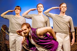 From left to right: Jo Kuzelka, Rigel Schmitt, Gino Bloomberg, - Jordan Dobbins