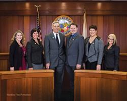 FILE - The Eureka City Council's official portrait.