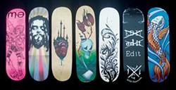 JULIA FINKELSTEIN - Skate decks on sale for a good cause at Arts Alive!