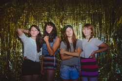 PHOTO COURTESY OF THE ARTISTS - La Luz plays The Miniplex on Monday, July 3 at 9 p.m.