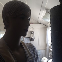 PHOTO BY GABRIELLE GOPINATH - A mannequin in the Phillips House's 1930s kitchen.