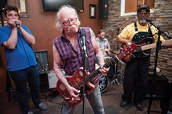 PHOTO BY MARK MCKENNA - Buddy Reed and the Rip It Ups play their regular weekly gig at The Speak Easy in Eureka on Saturday nights.