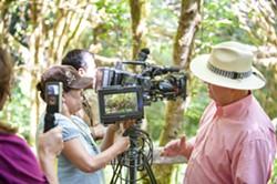 HSU filmmakers at work