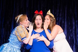 COURTESY OF REDWOOD CURTAIN THEATRE - Jessi Shieman, Molly Severdia and Nanette Voss-Herlihy dish on the lives of Disney princesses.
