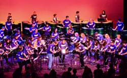 SUBMITTED - The HSU Calypso Band plays the Van Duzer Theatre at 8 p.m. on Saturday, Dec. 2.